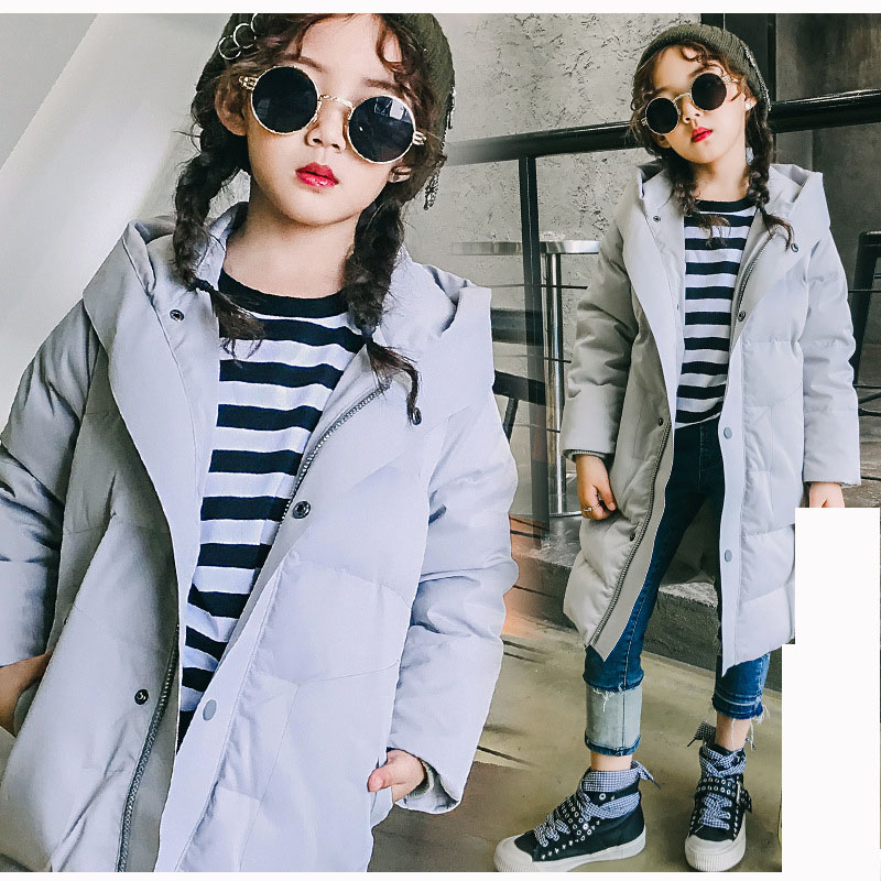 hooded children thick warm coats winter 2017 long jacket for girls kids padded for little big girl outerwear clothing 8 10 12 14 korean baby girls parkas 2017 winter children clothing thick outerwear casual coats kids clothes thicken cotton padded warm coat