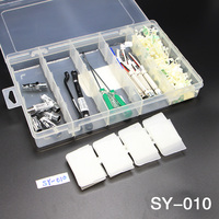 1Pc High Quality Hook Type Drop Resistant Parts Box SY 010 Component Case Plastic Assembly Type