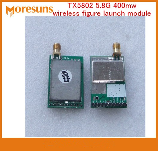 Free Ship TX5802 5.8G 400mw wireless figure launch module channel wireless audio and video transmission FPV aerial moduleFree Ship TX5802 5.8G 400mw wireless figure launch module channel wireless audio and video transmission FPV aerial module