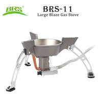 BRS 11 Ultra light Camping Gas Stove Cooker Climbing Picnic Cookout Hiking Equipment Windproof Outdoor