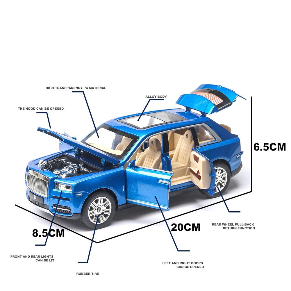 Image 3 - RCtown 1/24 Off road Vehicle SUV Alloy Simulation Pull Back Car for Kids-in Diecasts & Toy Vehicles from Toys & Hobbies