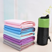 Quick Drying Swimming Towel Microfiber Travel Fabric Sports Gym Yoga Bath Towels 6 Colors