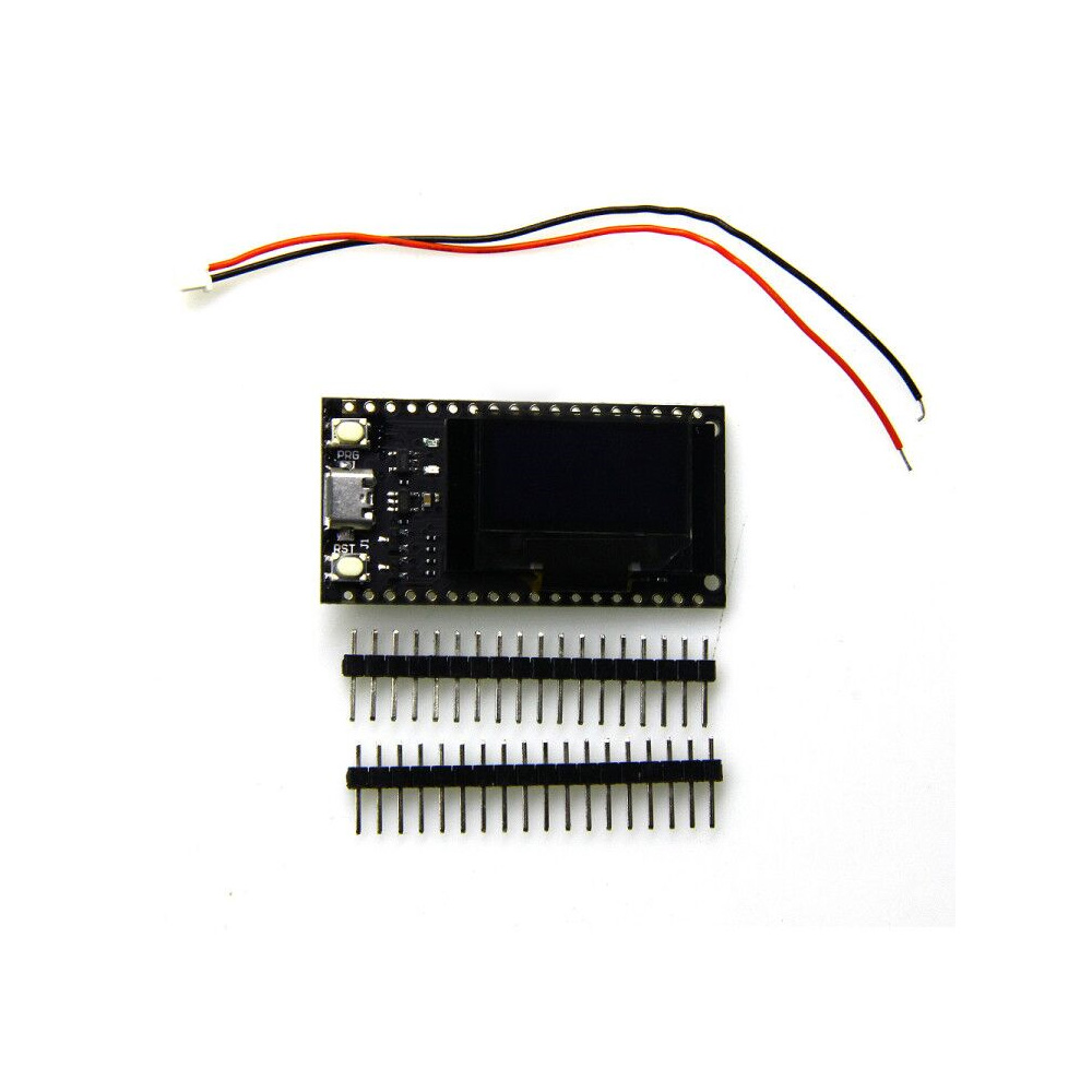 16 Mt byte (128 Mt bit) Pro ESP32 OLED V2.0 TTGO & per Arduino ESP32 Moduli WiFi + Bluetooth Doppio ESP-32 ESP8266 et OLED OLED