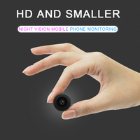 Mini Wifi Camera IP Wireless Cam Remote Control App Support Motion Detection 150 Degree Wide Angle IR Night Vision