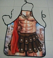 Novelty Roman Warrior Rude Cheeky Cute BBQ Aprons Men Women Christmas Halloween Birthday Gag Party Dress Props Cool Funny Gifts