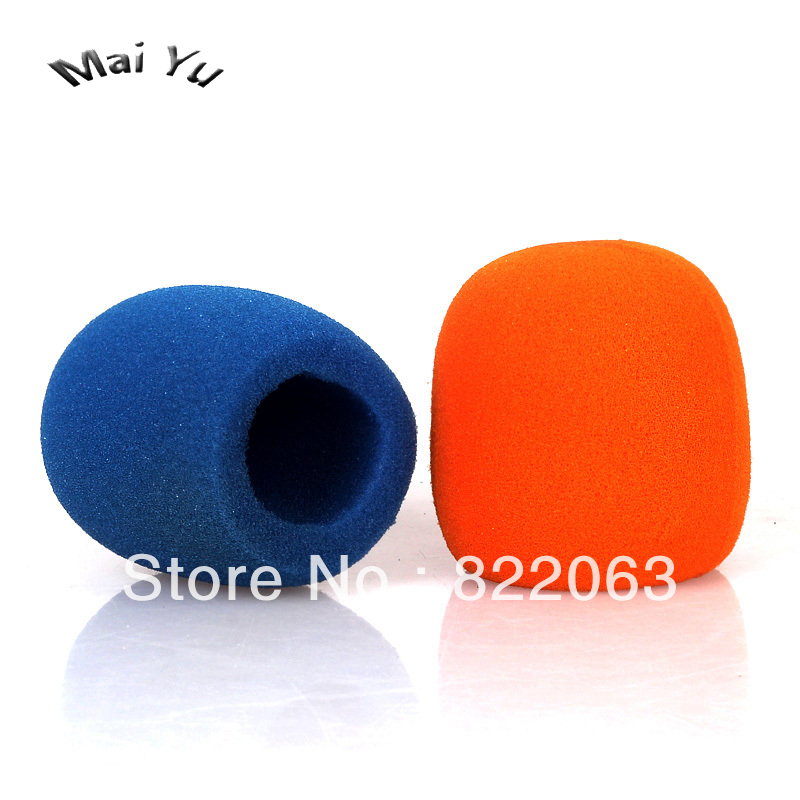 Professional Sponge Windscreen Microphone Cap Cover Protection Against Noise Canceling Filter Hat For Handheld Microphone