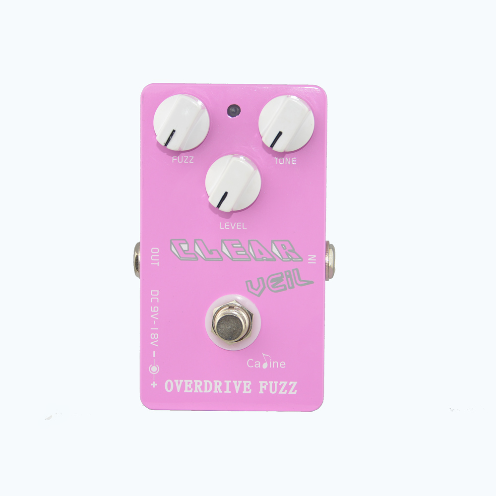Caline CP-32 Guitar Effect Pedal Overdrive Fuzz Guitar Effects Combine Classic and Modern Music Caline Fuzz Effect True Bypass mooer ensemble queen bass chorus effect pedal mini guitar effects true bypass with free connector and footswitch topper