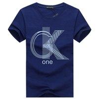 Хлопковые повседневные мужские футболки GK one, высокое качество, модные мужские футболки с коротким рукавом, мужские футболки, топы, мужские ...