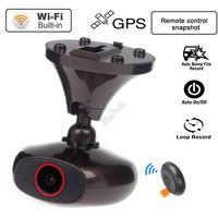 Free Shipping DDPAI M6 Plus HD 1440P WIFI Car Dash Video Record GPS Camera DVR Remote