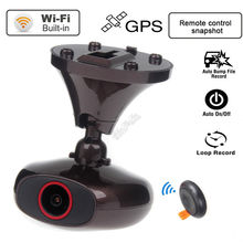 Original M6 DDPAI Plus Car DVR HD 1440 P WIFI Coche Dashcam Instantánea Remoto caja Negro Video Recorder DVR GPS logger
