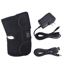 Heating Knee Pad USB Thermal Adjustable Voltage Temperature Heated Leg Brace Wrap Support for Pain Relief