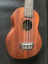 4 Strings Hawaii Ukulele 21Acoustic Mahogany Ukelele 18 Fret Mini Guitar Children Gift Kids Present Small Rosewood