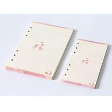 Loose-Leaf Notebook Rings Refills Inserts Spiral-Diary-Planner Inner Personal Binder