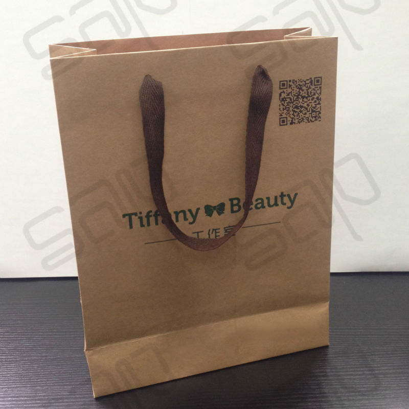 Online Get Cheap Printed Brown Paper Bags -Aliexpress.com ...