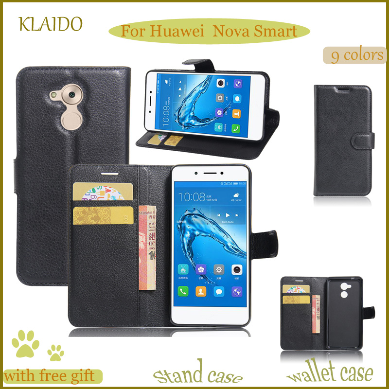 KLAIDO High Quality Luxury Wallet Leather Phone Case For Huawei Nova Smart Card Slot PU  ...