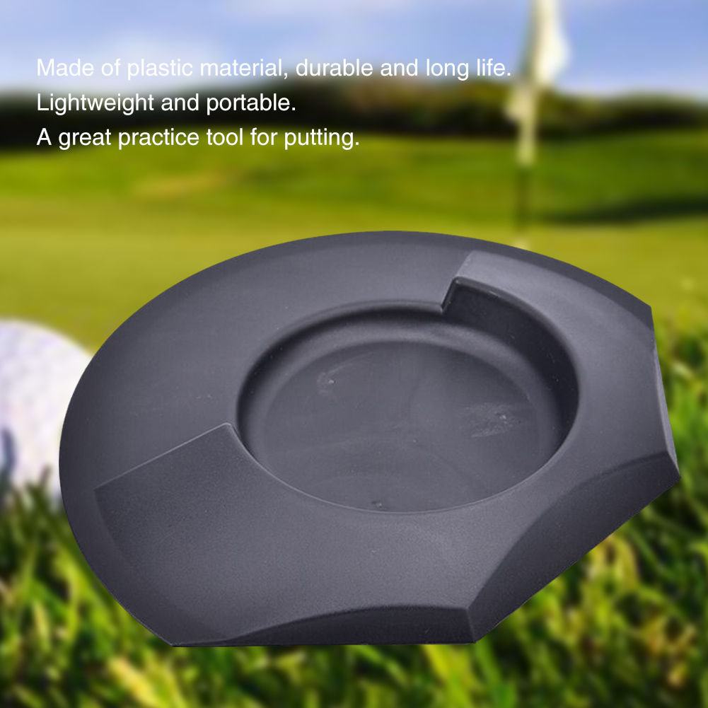 Indoor All Direction Training Aid Tools Backyard High Strength Lightweight Putting Cup Outdoor Golf Practice Hole Portable