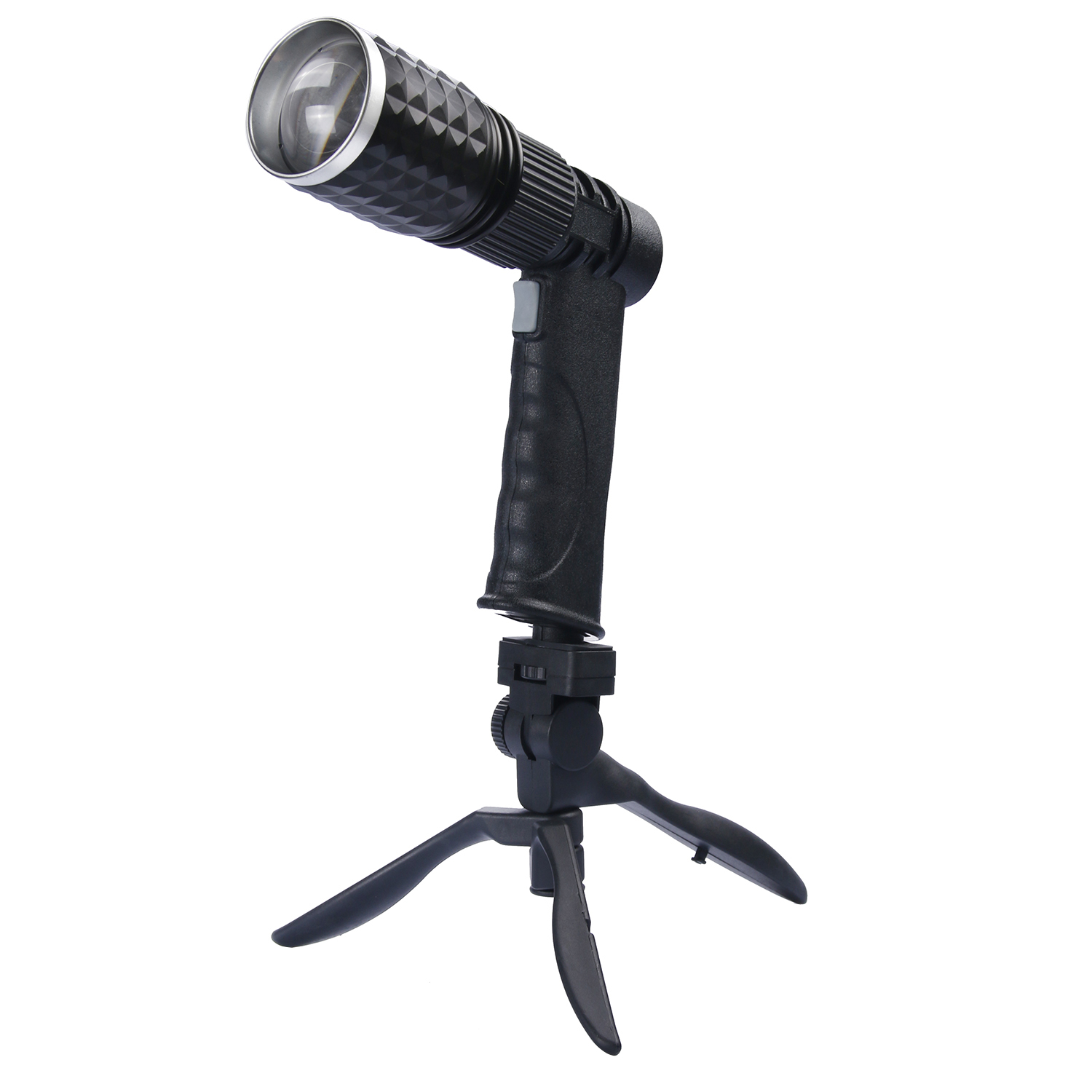 Super Bright New Zoomable XM-L T6 LED Flashlight Torch Light Stand Power Bank for your phone outdoor + USB Charger+ holder cree xm l t6 bicycle light 6000lumens bike light 7modes torch zoomable led flashlight 18650 battery charger bicycle clip