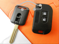 Dropshipping Brand New 2 Buttons Remote Fob Modified Flip Folding Car Cover Key Case Shell Blank