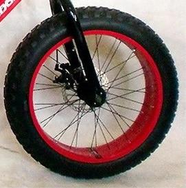 Front Rear Wheel For 20 Inches Fat Bike 4 0 Width With Outer Inner Tyre Disc Brake Bike Three Wheel Bike Bracketwheels Road Bike Aliexpress