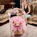 Free shipping Factory outlets Multifunction Smart Crib Electric baby cradle Automatic baby rocker Baby cradle swing music 2016