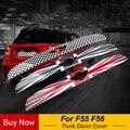 Exterieur Kofferbak Trim Deksel Cover Tail Achterklep Deurgreep Strip Molding Trim Voor MINI COOPER F55 F56 Auto Styling accessoires