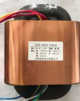 175V 1A 100V 1A 2*90V 1A 24V 1A R Core Transformer 480VA R600 custom transformer 220V copper shield Power amplifier