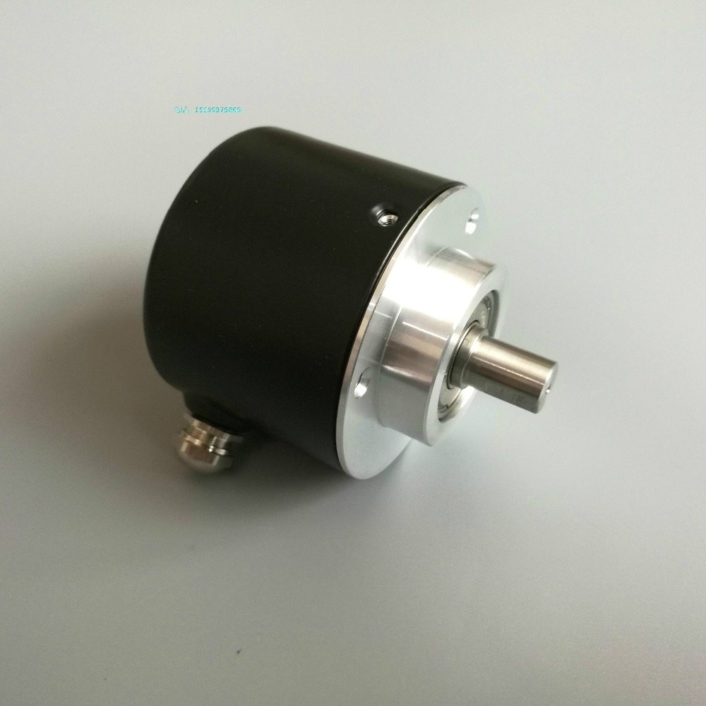Photoelectric incremental encoder 5810 outer diameter 58mm shaft diameter 10mm 100-2500 pulse spot r38t 10g05l1024bm rotary encoder 1024 pulses shaft diameter 10mm outer diameter 38mm