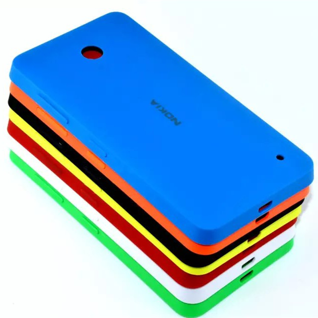 for Nokia Microsoft Lumia 630 635 638 636 535 XL 1030 1061 Replacement Part Back Cover Battery Door Case