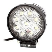 uxcell 4.5 27W 6000K 9 White LED Round Work Light Fog Driving Lamp for 4x4 Offroad SUV ATV for Jeep Boat