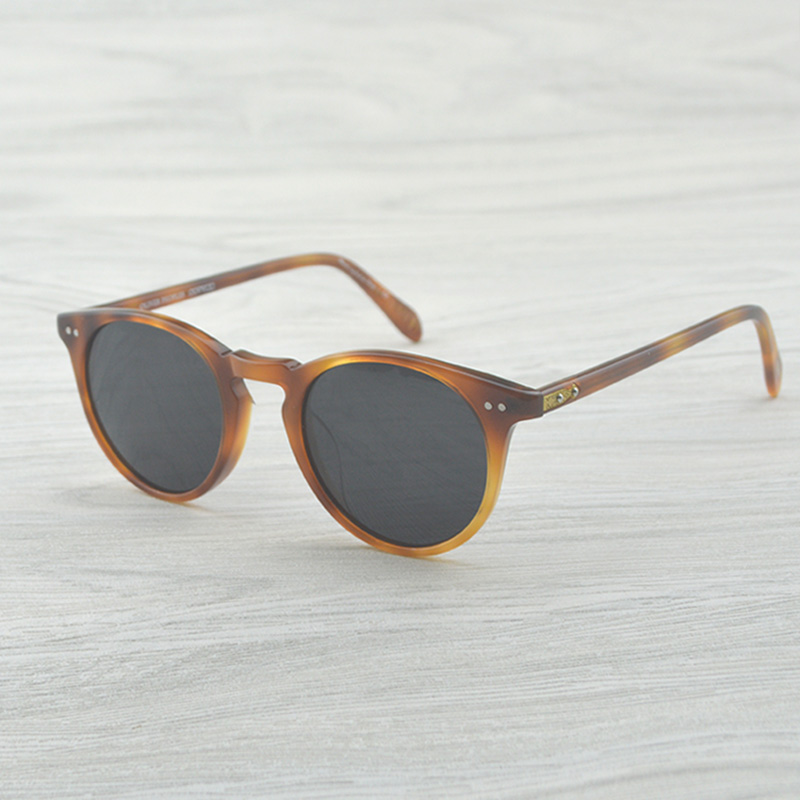 Sir O'malley Vintage Round Sunglasses Women Men Brand Designer OV5256 O Malley Sun Glasses For Women Sunglasses Brand Designer
