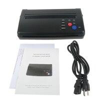 New Tattoo Stencil Transfer Flash Copier Thermal Hectograph Printer Machine CIS Scan Black Color US UK AU EU Plug Available