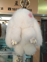 Imported mink fur really small sprout dead rabbit rabbit fur bags hang act the role ofing is tasted small gifts