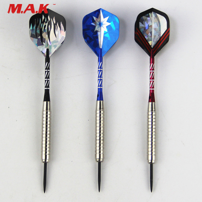 12 pcs/Set Darts with Steel Tip and Aluminum Pole fit Professional Competition and Indoor Sports Game Activity