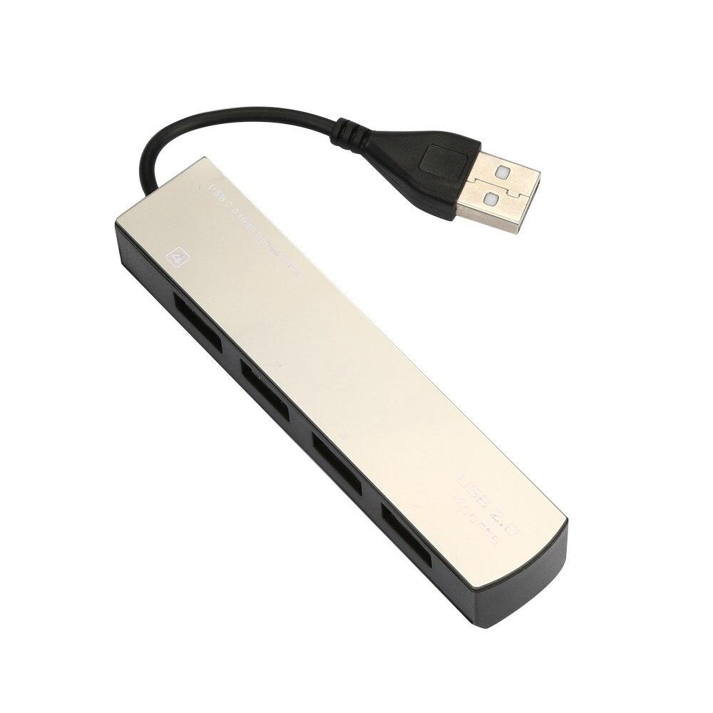 Ловкий 4 в 1 концентратор usb 2.0 high Скорость 60 МБ/с. USB разветвитель 4-портовый ада ...