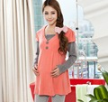 Long Sleeve Cotton Maternity Blouses for Pregnant Women Pregnant Women Clothes Shirt for Pregnancy