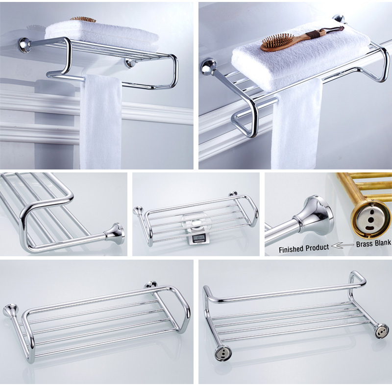 towel rack chrome 3