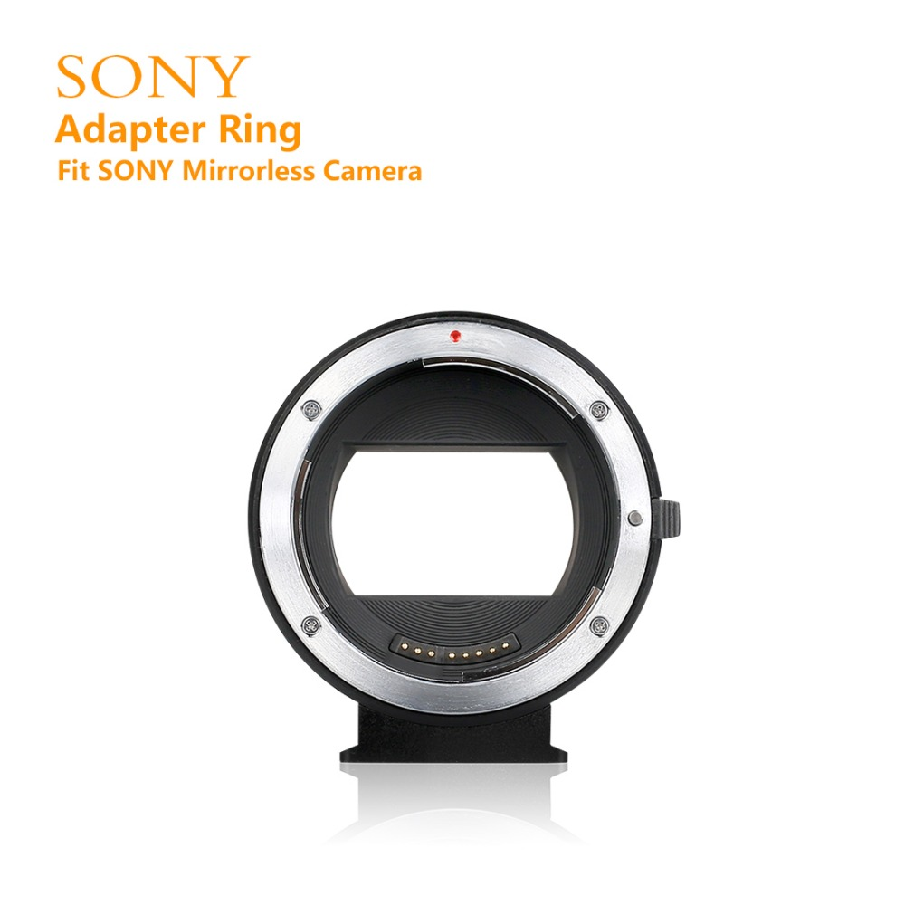 MEKE Meike MK-S-AF4 Auto Focus mount lens adapter ring for SONY micro single camera to Canon EF/EF-S camera meke meike mk s af4 auto focus mount lens adapter ring for sony micro single camera to canon ef ef s camera