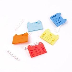 Image 4 - Elecrow bbc micro: bit placa de programação diy módulo makecode com kittenbot microbit capa protetora silicone colorido escudo