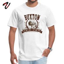 купить Buxton Maine Pure Hakuna Matata Geek Tops Tees New Arrival Short Serbia Men T-shirts Funny VALENTINE DAY Tee-Shirt Round Collar дешево