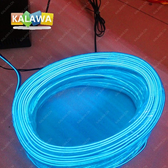 Band Edge 5M Flexible Neon Light EL Wire + Battery Controller BOX ...