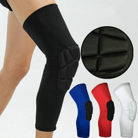 2PCS Professional Honeycomb Knee Pads Crashproof Sport Safety Cycling Basketball Leg Sleeve Football Gym Legging Protective