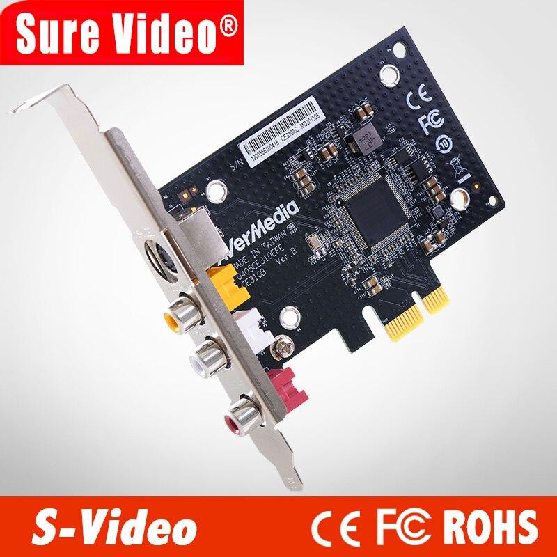 AVerMedia CE310B professionnel SD PCIe carte de capture avec S terminal vidéo capture AV composite (CE310B)