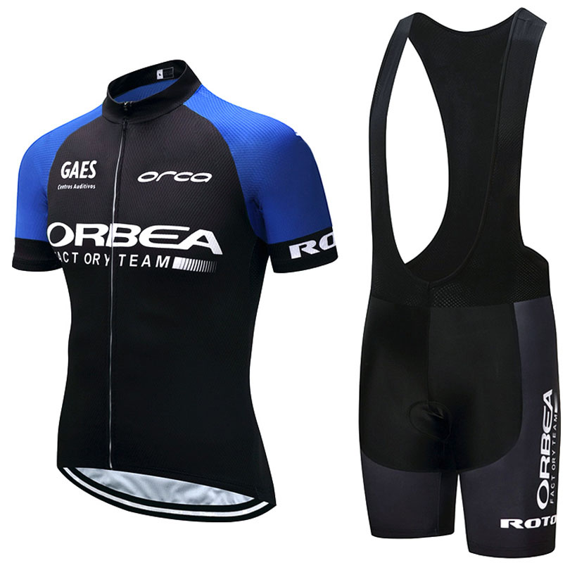 2018 Pro ORBEA Team Blue Short Sleeve Cycling Jersey Maillot Ropa Ciclismo Cycling Clothing Cycling Jersey GEL Breathable Pad смартфон highscreen fest xl pro blue