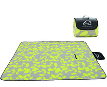 Camping Mat with Colorful Print