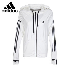 Original New Arrival 2017 Adidas Performance ON THE MOVE Women's jacket Hooded Sportswear
