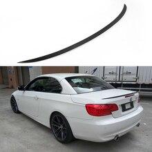 E93 M3 Стиль углерода Волокно авто задний спойлер багажника крыло для BMW E93 2007-2013