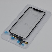 High Quality LCD Display Touch Screen Front Outer Glass Panel with Flex Cable For iPhone X