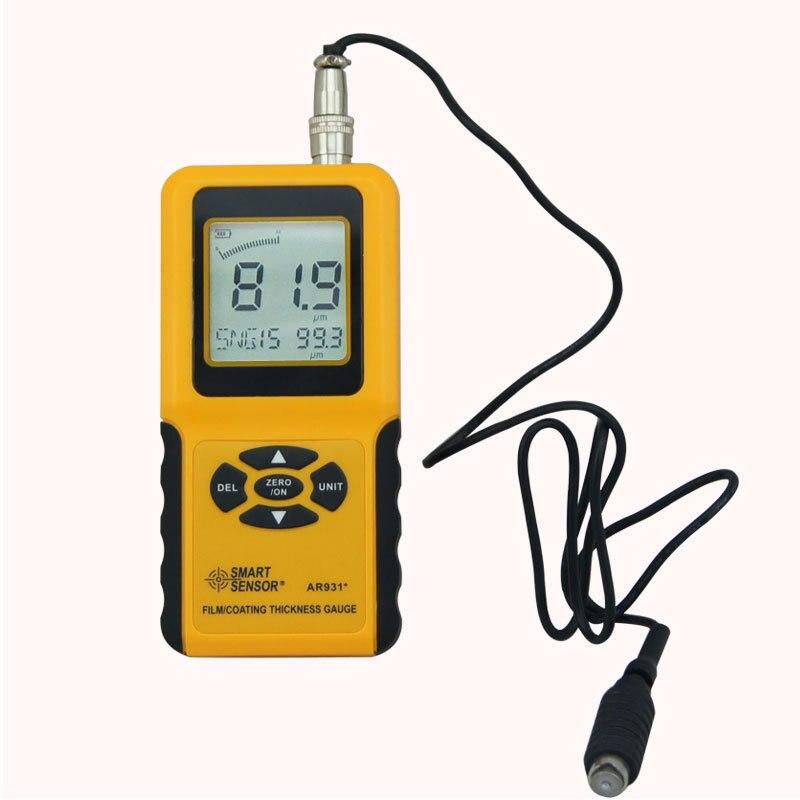 AR931 портативный цифровой измеритель толщины покрытия