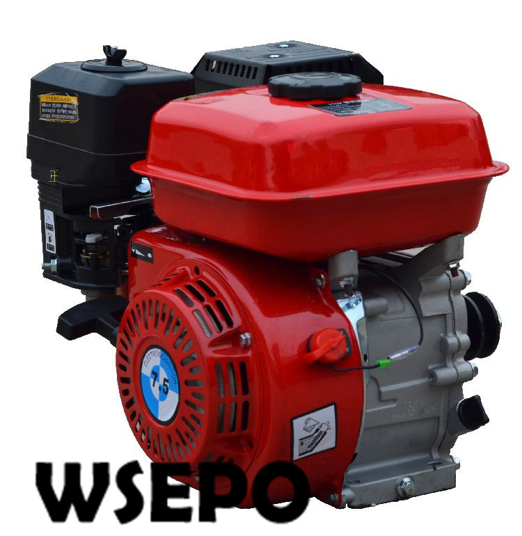 Factory Direct Supply WSE-173F(GX240) 8HP 242CC Air Cool 4 Stroke Gasoline Engine,used for Gokart/Water Pump/Genset/Road Cutter aluminum water cool flange fits 26 29cc qj zenoah rcmk cy gas engine for rc boat