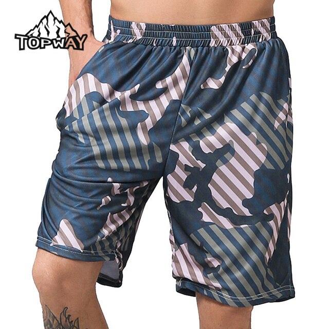 0417269e03 La alta Calidad Del Verano Camo Ocio Loose Shorts Playa de Los Hombres  Casuales Ropa de